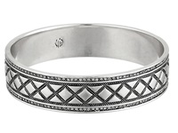 House Of Harlow Shakti Engraved Bangle Silver Bracelet