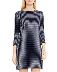 Vince Camuto Two By Nautical Stripe Knit Dress Blue Night