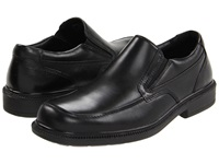 Hush Puppies Leverage Black Leather Men's Shoes