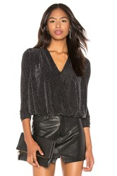 Bailey 44 Stealing Sparkle Top Black