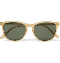 L.G.R D Frame Acetate Sunglasses Yellow