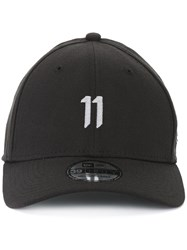 11 By Boris Bidjan Saberi Logo Baseball Cap Black