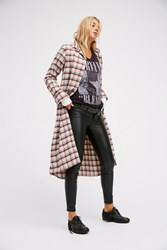 Free People X Cp Shades Womens Flannel Maxi