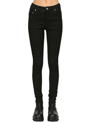 Rick Owens Skinny Cotton Denim Jeans Black