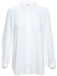 3.1 Phillip Lim Shirt With Fringe Detailing White