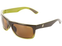 Zeal Optics Essential Polarized Brown Olive W Copper Polarized Lens Sport Sunglasses