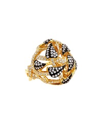 Stephen Webster 18K Gold Poison Ivy Bubble Ring