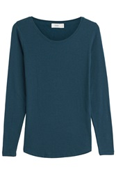 Closed Long Sleeved Top Blue