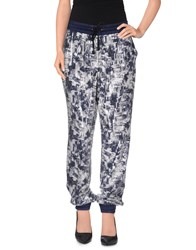 Essentiel Trousers Casual Trousers Women Dark Blue
