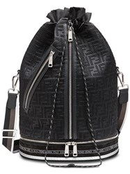 Fendi Mon Tresor Sports Bag Black