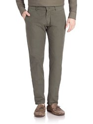 Tomas Maier Soft Poplin Pants Army Green