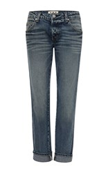 Amo Tomboy Yours Truly Low Rise Jeans Dark Wash