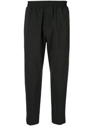 Bassike Cropped Trousers Grey