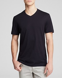 The Men's Store At Bloomingdale's Pima Cotton V Neck Tee Black