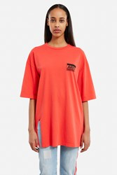 Aries Revelations Tee Dress Red