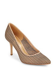 Enzo Angiolini Cicely Embossed Perforated Pumps