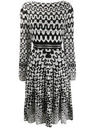 Missoni Geometric Print Flared Dress 60