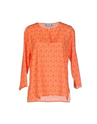 Gallo Shirts Blouses Orange