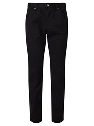 John Lewis Stretch 5 Pocket Trousers Black