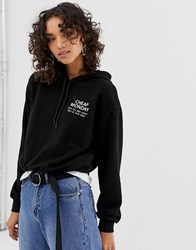 Cheap Monday Form Sender Logo Hoodie Black