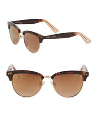 Vince Camuto 57Mm Round Sunglasses Brown