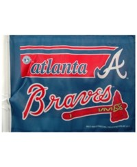 Rico Industries Atlanta Braves Car Flag Team Color