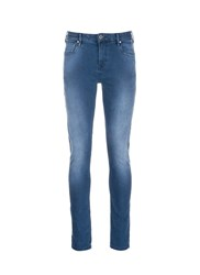 Scotch And Soda 'Skim' Stone Wash Skinny Jeans Blue