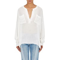 Faith Connexion Women's Gauze Blouse White