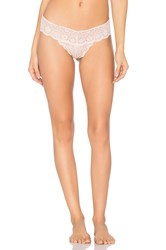 Commando Tulip Tanga Thong Blush