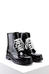 Forever 21 Glitter Sole Jelly Boots