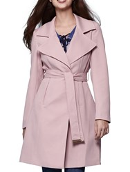 Yumi Tailored Trench Coat Pastel Pink