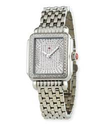 Michele Deco Ultimate Pave Diamond Watch Limited Edition