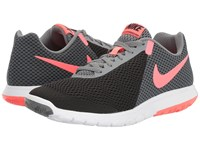 Nike Flex Experience Rn 6 Black Hot Punch Cool Grey White Women's Running Shoes