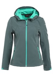 Icepeak Lucy Soft Shell Jacket Green Anthracit