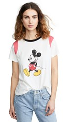 Mkt Studio Mickey Mouse T Shirt Craie