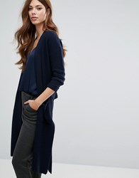 Selected Knit Cardigan Dark Sapphire Navy