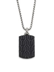 John Hardy Classic Chain Collection Pendant And Chain Necklace No Color