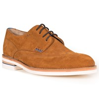 Oliver Sweeney Connell Suede Derby Shoes Whiskey