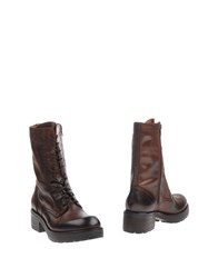 Jfk Ankle Boots Cocoa