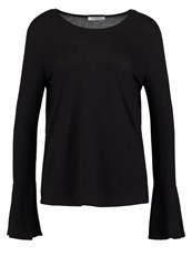 Pieces Pcfilua Long Sleeved Top Black
