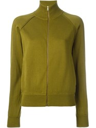 Chloe Zipped Sweatshirt Green