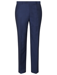 Daniel Hechter Tonic Tailored Fit Suit Trousers Bright Indigo