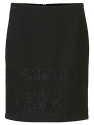 Betty Barclay Textured Lace Skirt Black