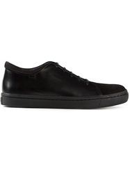 Opening Ceremony Contrasting Panel Sneakers Black