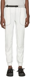 And Wander Off White Ponte Lounge Pants