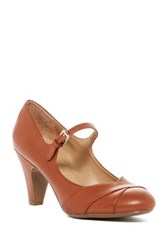 Naturalizer Layton Mary Jane Pump Wide Width Available Brown