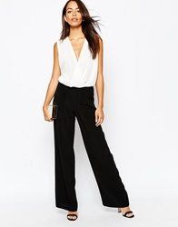 New Look High Wasited Wide Leg Trouser Black