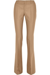 Gucci Wool And Cashmere Blend Flannel Flared Pants