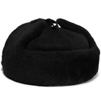Lock And Co Hatters Steppe Shearling Hat Black