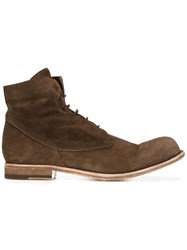 Officine Creative Bubble Ankle Boots Brown